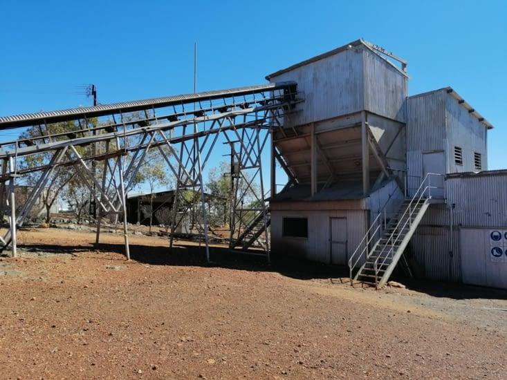 L'ancienne mine d'or de Tennant Creek.