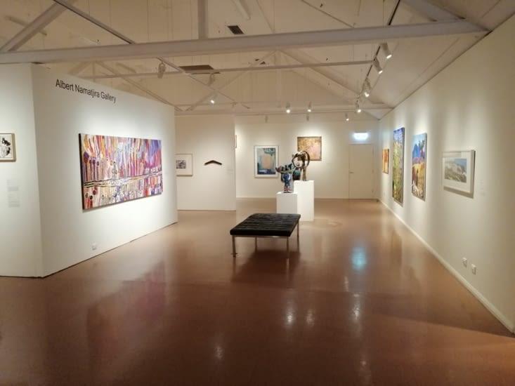Araluen galleries, dédiées à l'art aborigène.