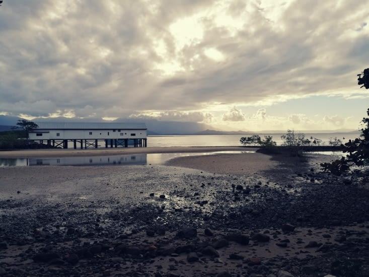 Le front de mer.