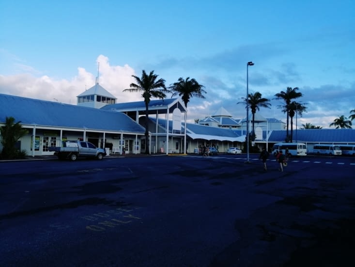 Le port de plaisance.