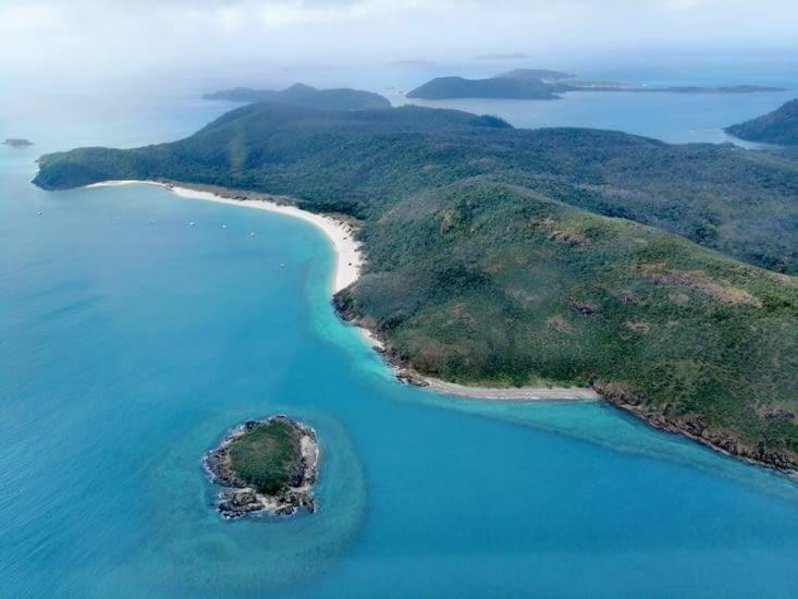Les îles des Whitsundays.