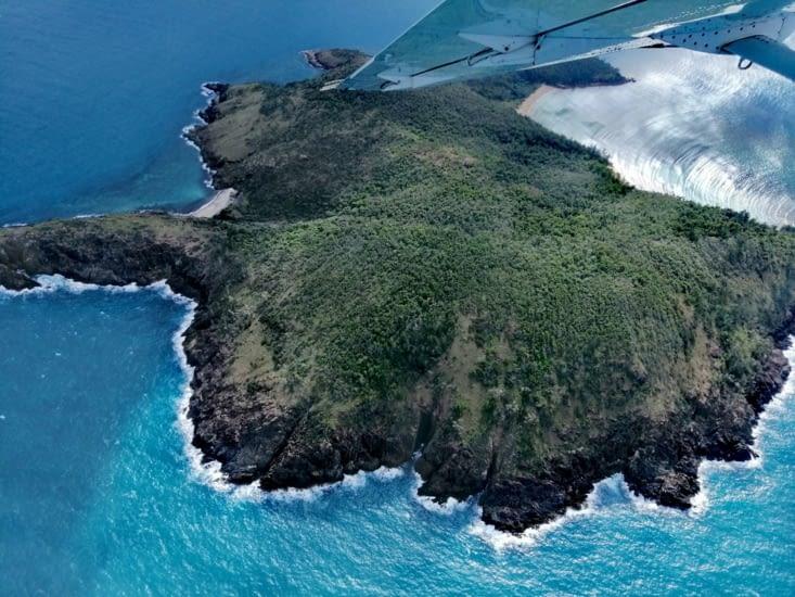 Île déserte.
