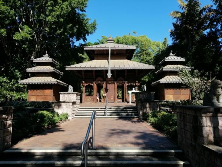Un temple népalais