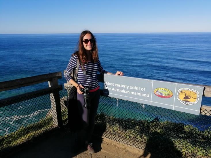 Le point le plus à l'est de l'Australie.