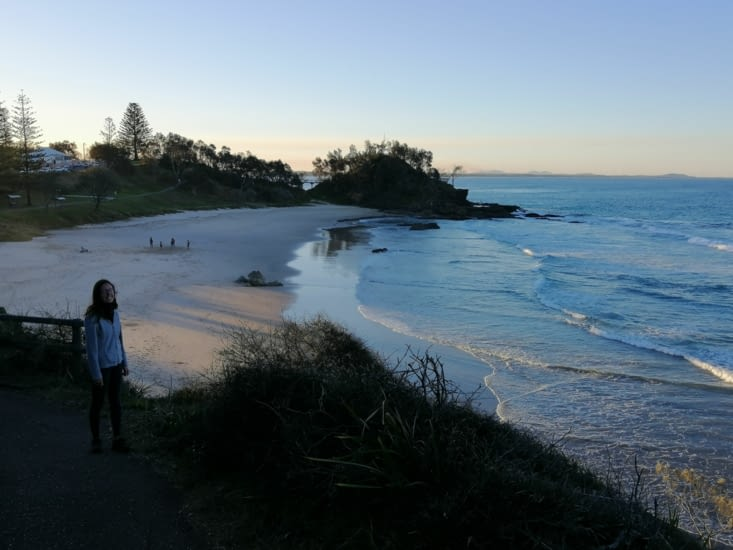Le rivage de Port Macquarie