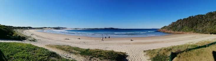 One mile beach.