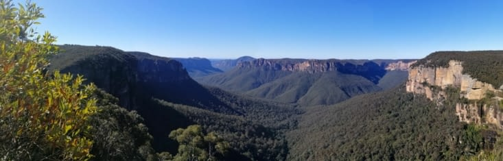 Govetts lookout.