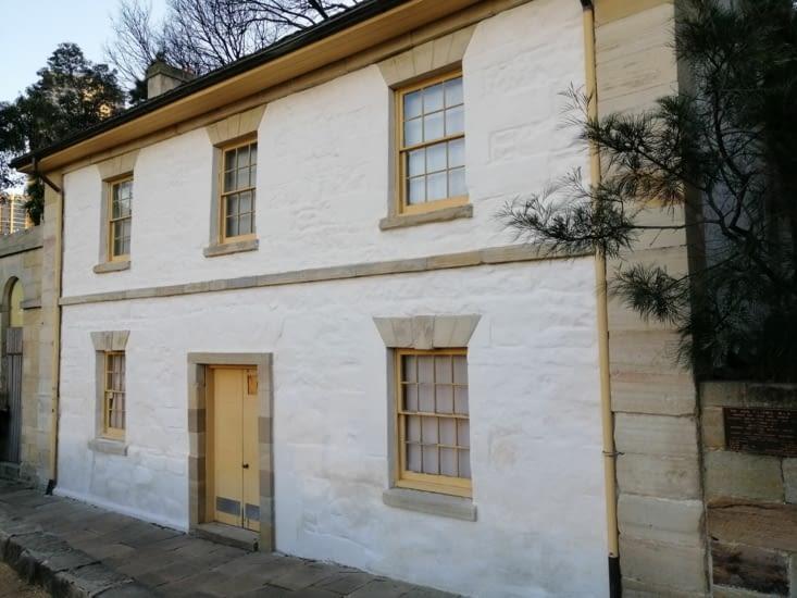 La plus ancienne maison de Sydney encore debout (début XIXème)