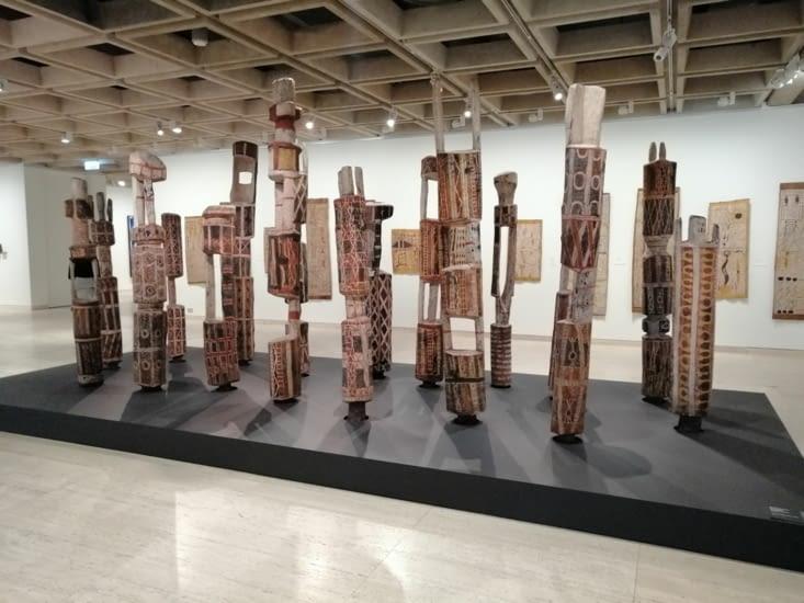 L'art aborigène.