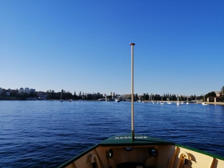 Le ferry pour Manly