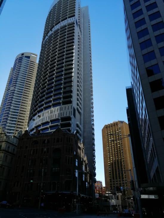 Les grattes-ciel du Central Business District