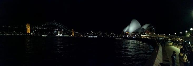 Les lumières de la baie.