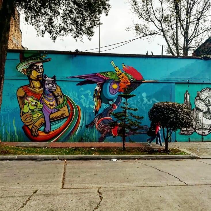 Le pays du graffiti