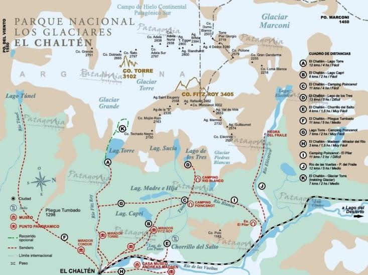 Carte du coin