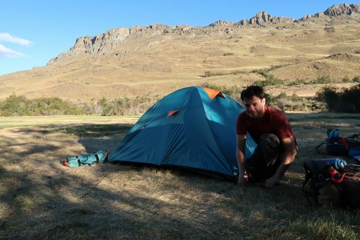 Campement dans le Parc Patagonia