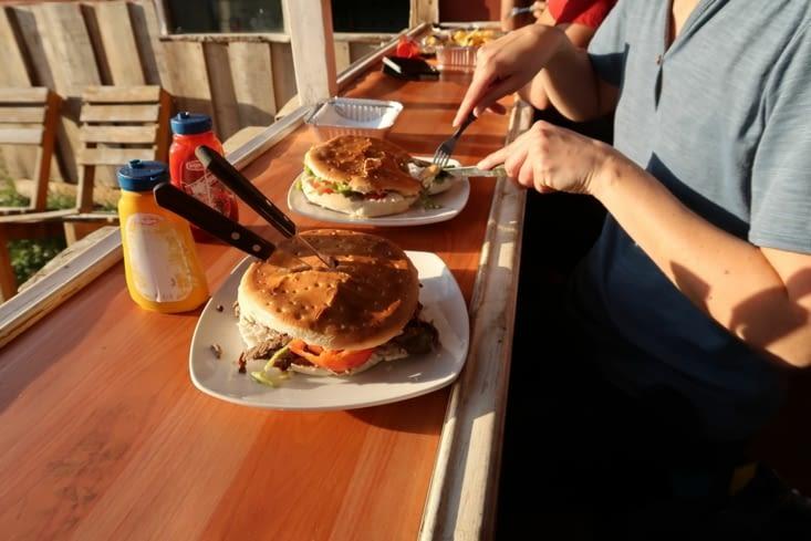 Le chacarero (sandwich chilien)