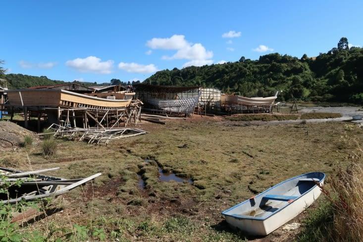 Construction de bateau à San Juan Bajo
