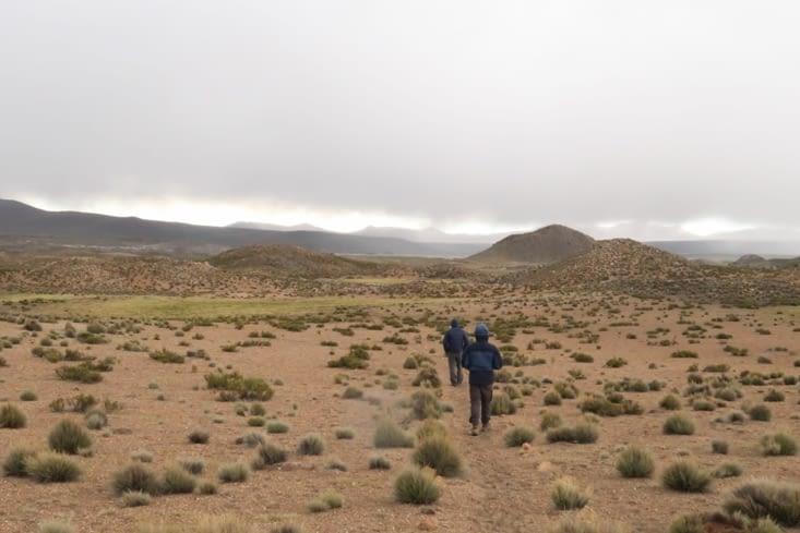 Alentours du village de Parinacota et acclimatation