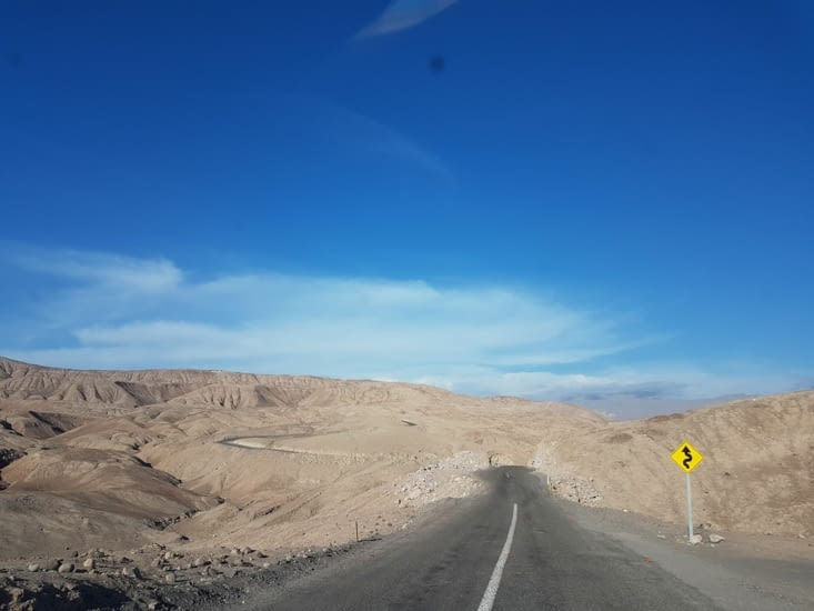 Route vers Putre