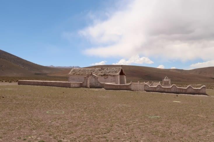 Un des villages abandonnés du parque Volcan Isluga
