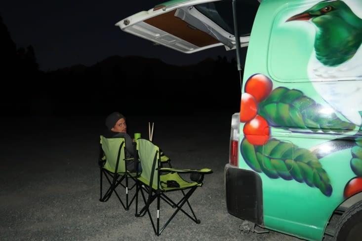 Camping aux portes d'Arthur Pass