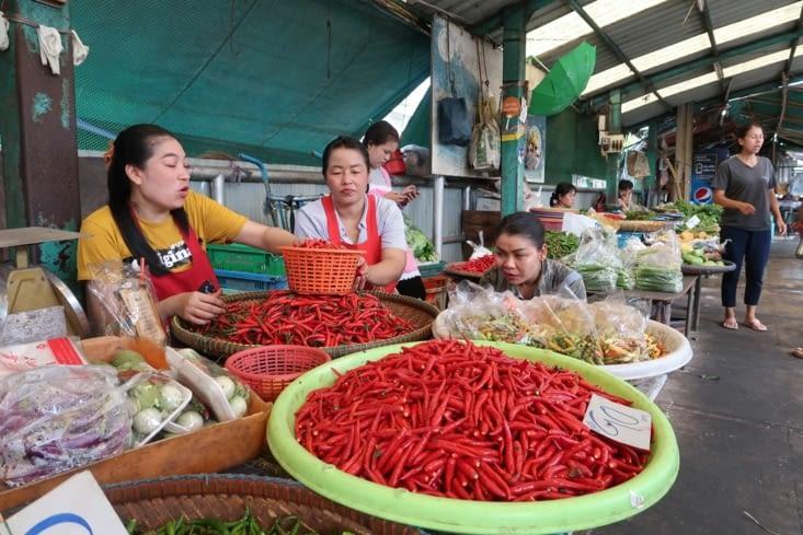 Marché de Klong Toey