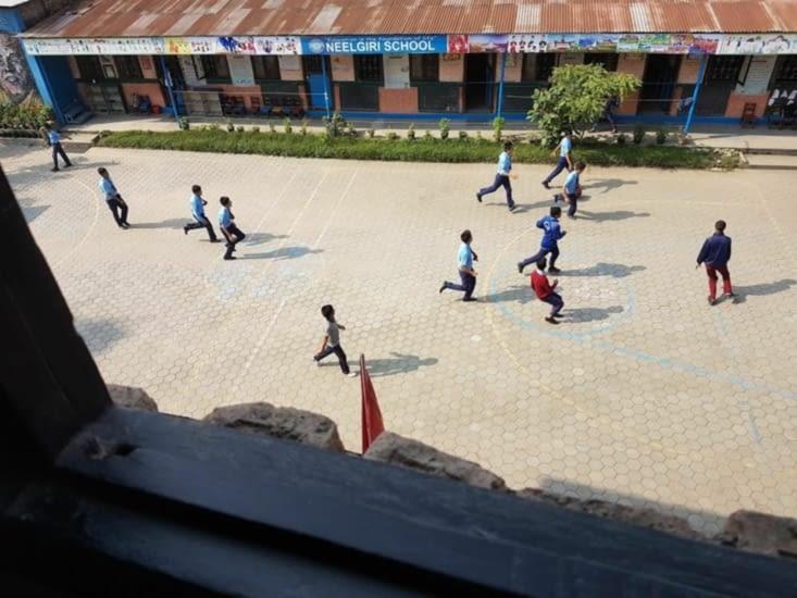 Partie de foot (que Virgile aurait aimée rejoindre)