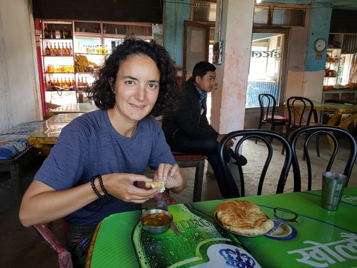 Petit déjeuner à Ranke Bazaar