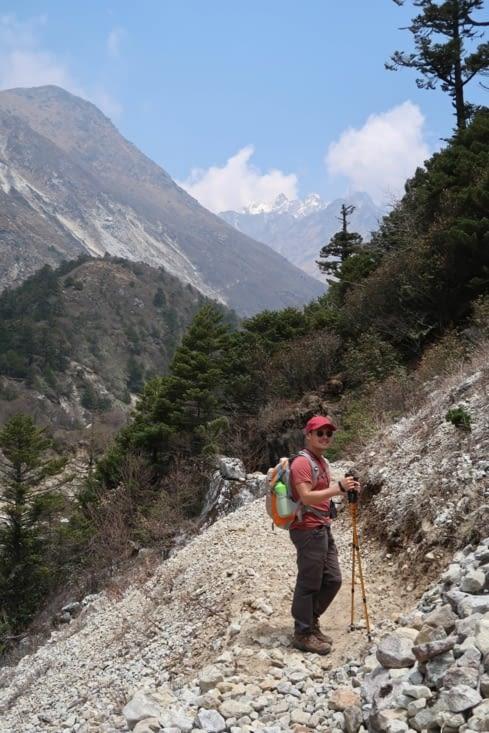 Sur la route pour Khambachen