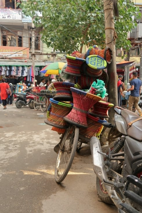 Asan Tole, le grand marché de Katmandou