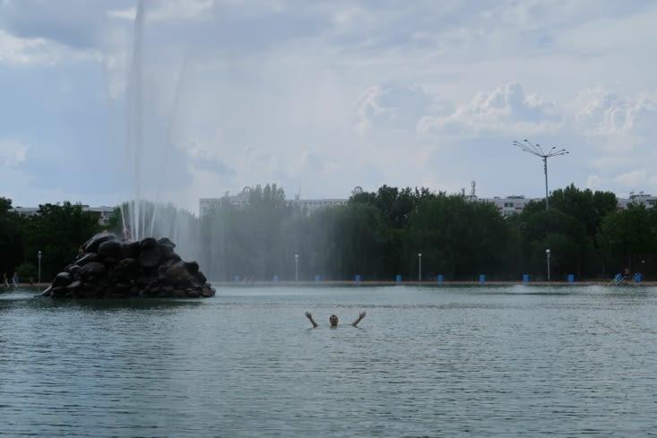 Virgile aura bien sûr trouvé un endroit où se baigner dans la ville