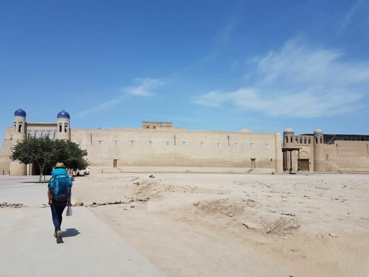 L'arrivée à Khiva
