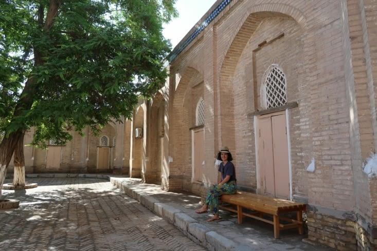 Cour intérieur d'une madrasa