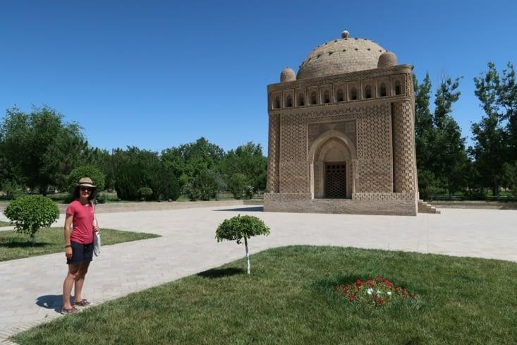 Le mausolée des Samanides.