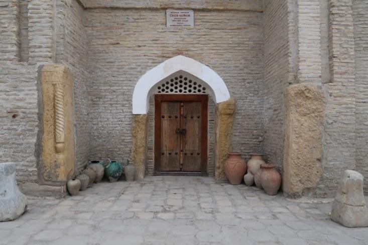 Jolie porte de Boukhara.