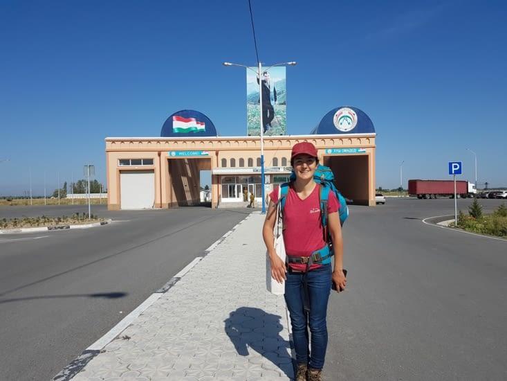 Passage de la frontière avec succès