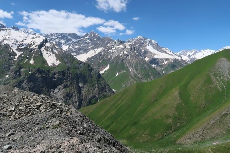 Route de Pendjikent à Douchanbé