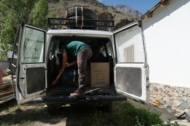 Départ vers la vallée du Wakhan