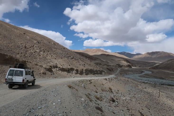 Fin de la vallée du Wakhan