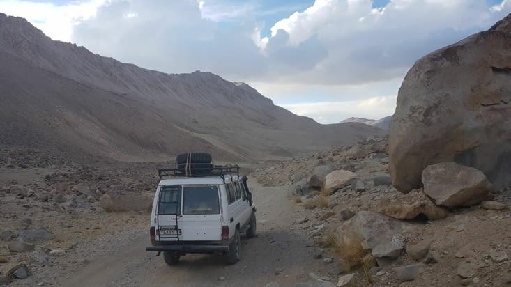 Sortie de la vallée du Wakhan