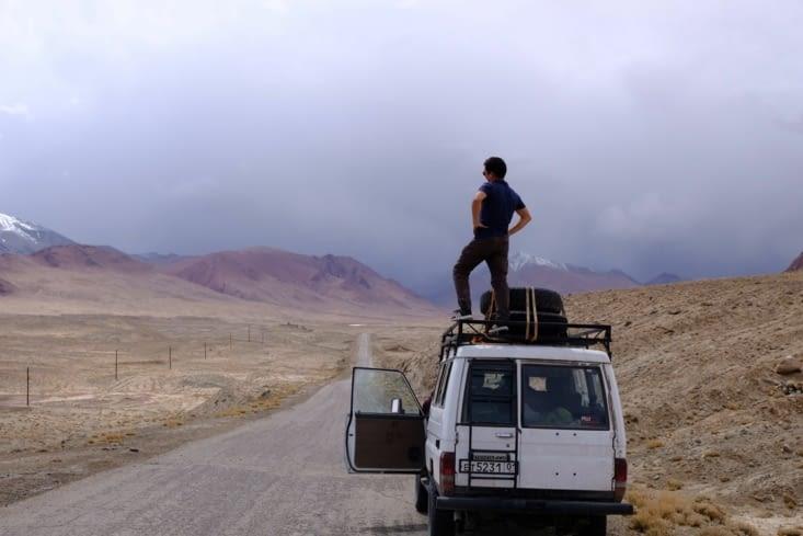 Route vers Karakul