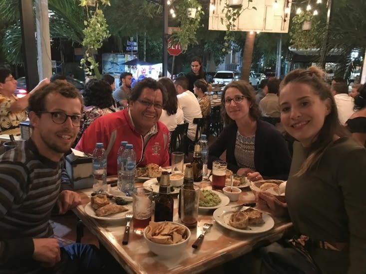 Resto avec Anais et Rafael / Dinner with Anais and Rafael