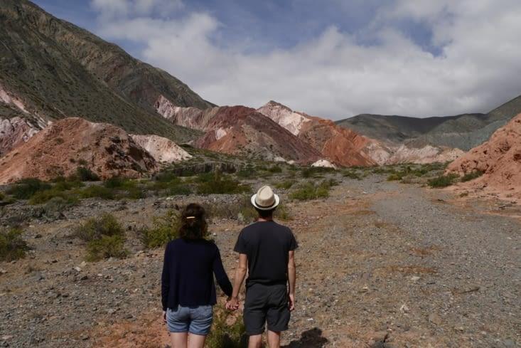 Montagne aux 7 couleurs / 7-color mountain