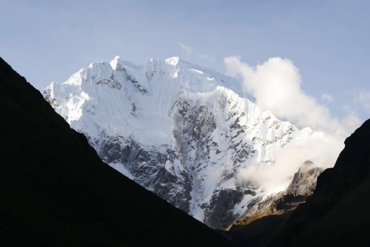 Montagne Salkantay / Salkantay mountain
