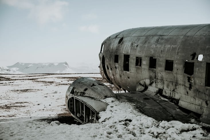 The plane wreck
