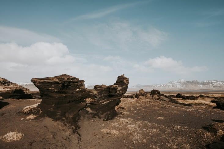Rocher de sable