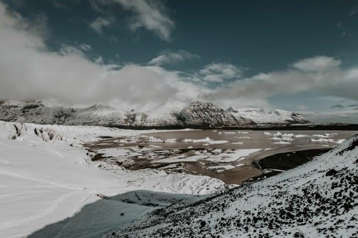 Glacier Skaftafellsjökull
