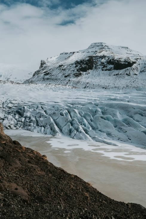 Glacier Svinafellsjökull