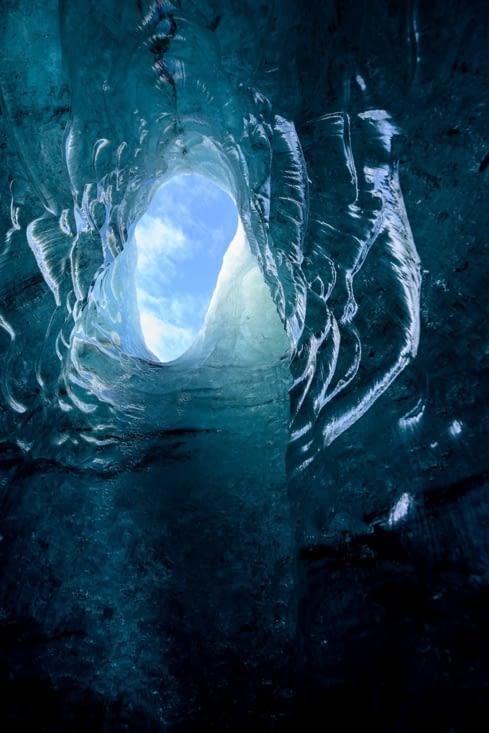 Ice cave Secret