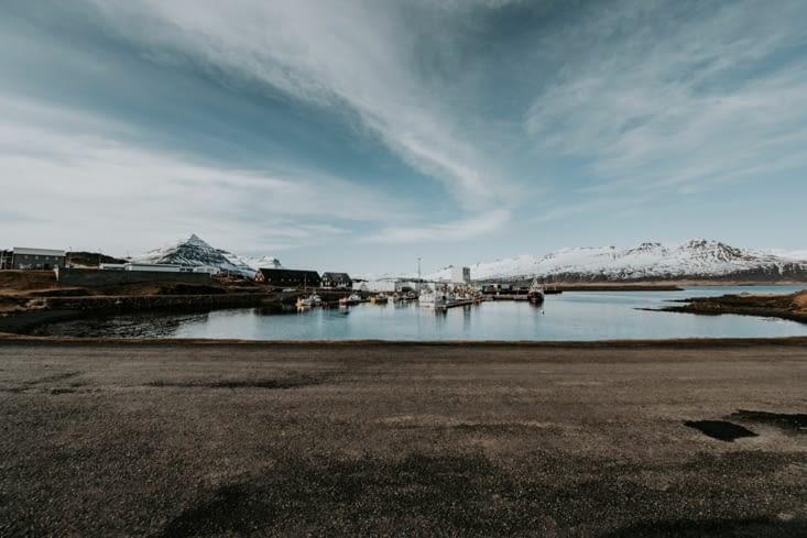 Port de Djúpivogur